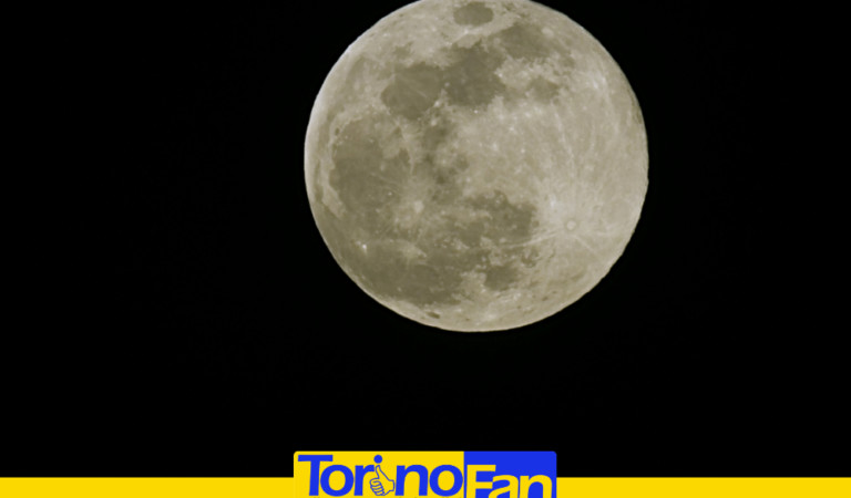 Luna di Neve: l'abbiamo fotografata per voi