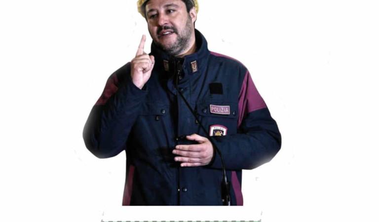 Salvini ribattezzato in «capitan coniglio». E' il gioco dei No Tav