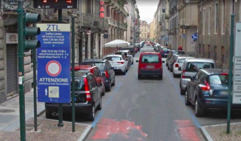 Nuova Ztl a Torino: arrivano i sensori per i parcheggi in altre zone della città