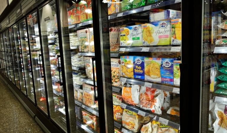 1 tonnellata di surgelati mal conservati destinati a negozi e supermercati