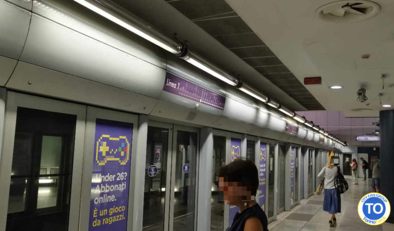 Metropolitana Torino: oggi riapre la rampa di accesso al sottopasso Lingotto