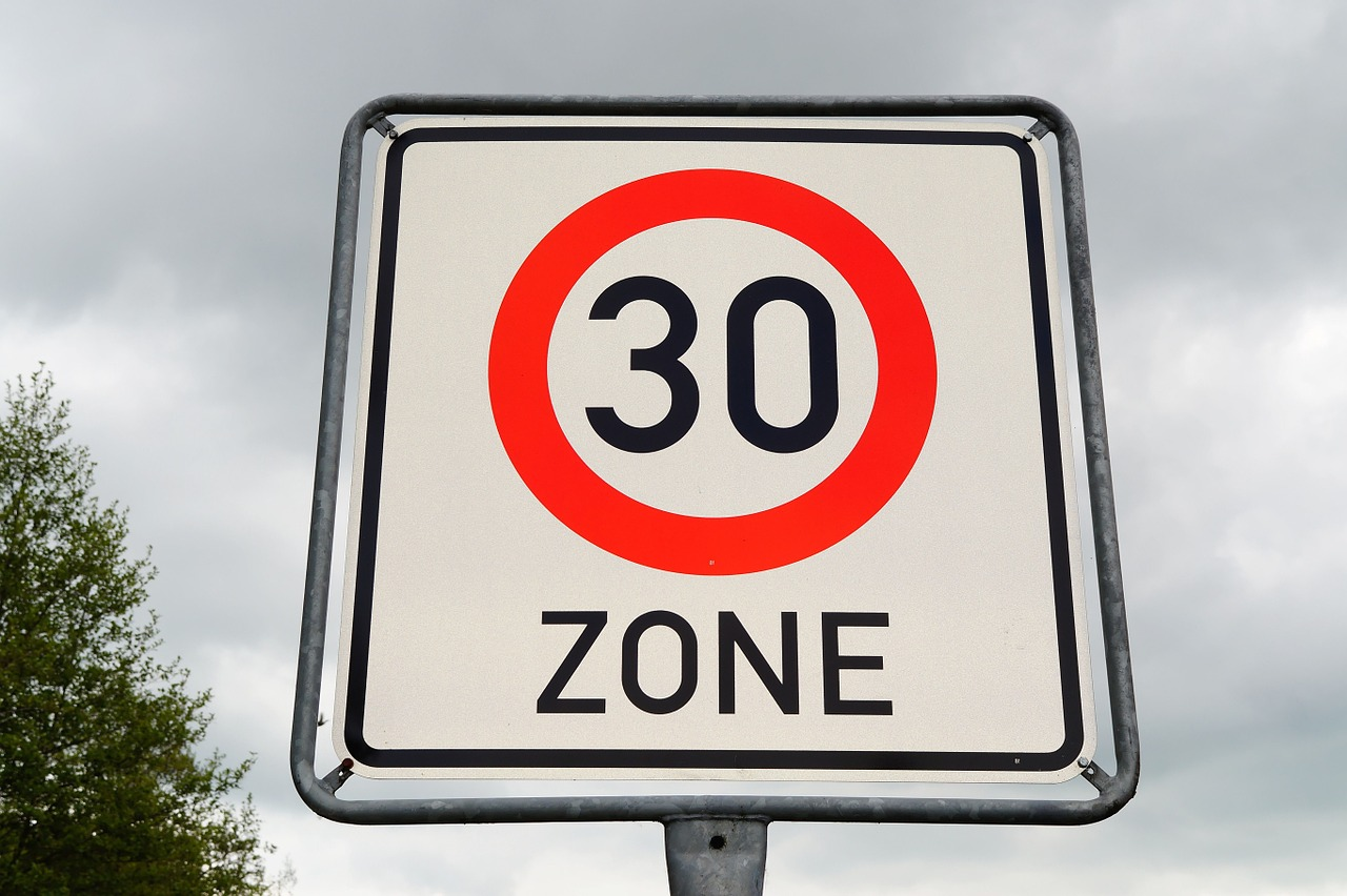 Limite dei 30 km orari nella ZTL centrale di Torino