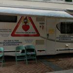 Atti vandalici contro il camper dei medici a Caselle