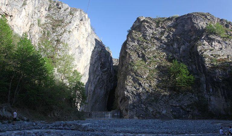 La riserva naturale dell'orrido di Chianocco