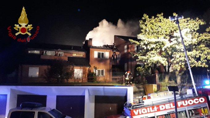 Riva presso Chieri, incendia l'azienda di famiglia dopo aver litigato con i parenti
