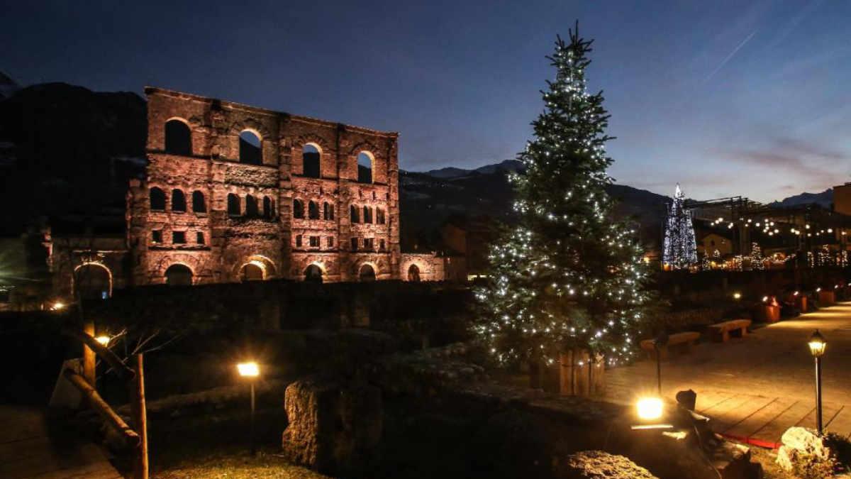 Mercatino di Natale Aosta
