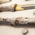 Allestimento Armi Orientali Musei Reali Torino