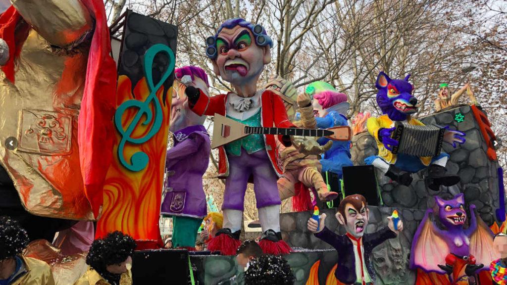 Un momento del Carnevale di Torino