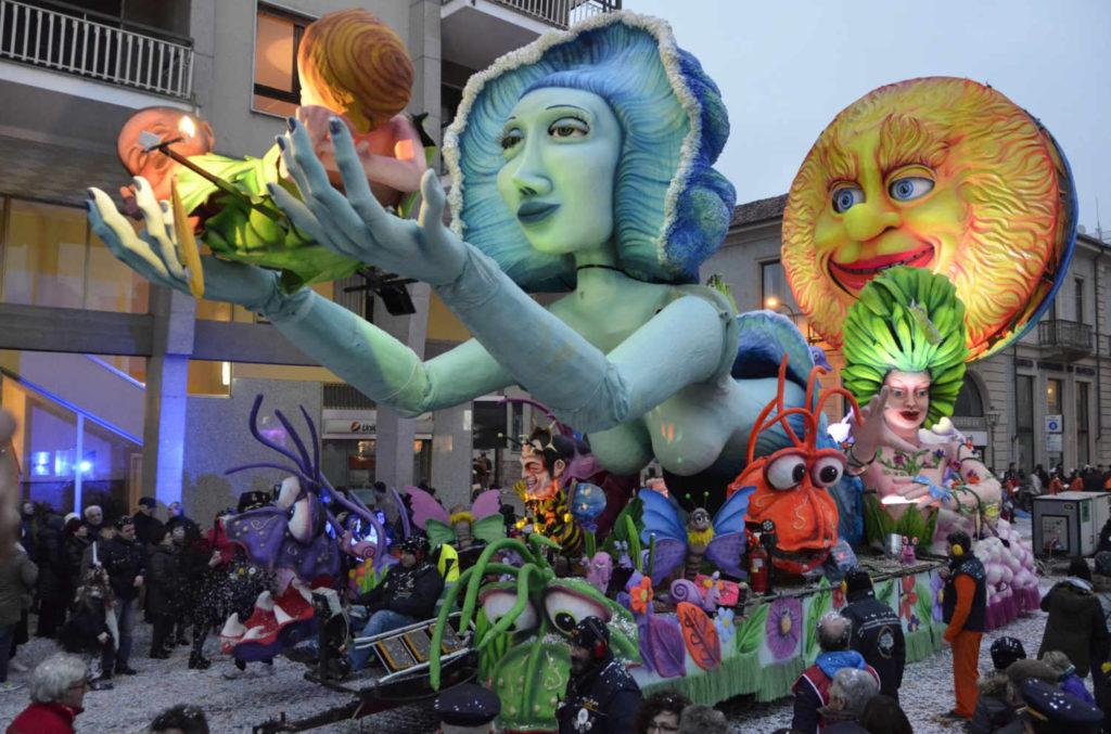 Un momento del Carnevale di Chivasso