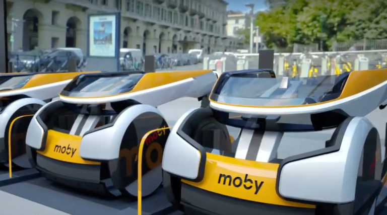 moby car sharing sedia a rotelle