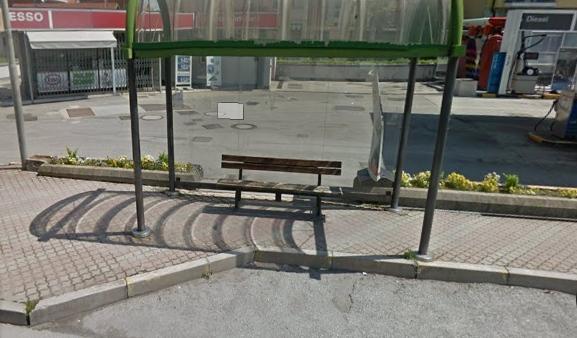 Investita da bus fermata autobus carmagnola