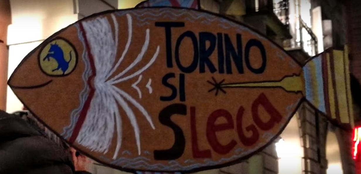 Sardine Torino Flash Mob Parco del Valentino