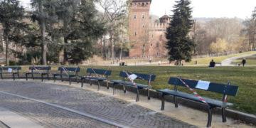 restauro 500 panchine Torino