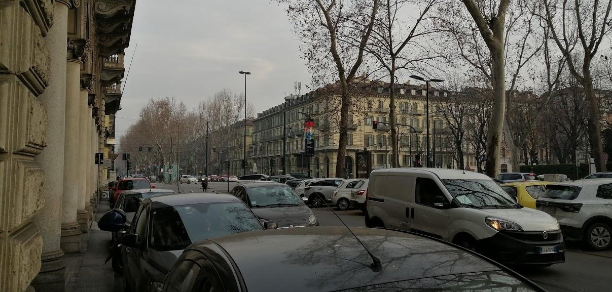 Blocchi del traffico a Torino