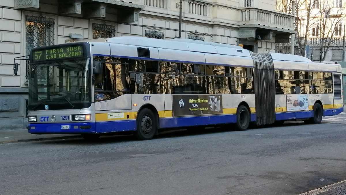 Variazioni percorso linee Gtt Torino