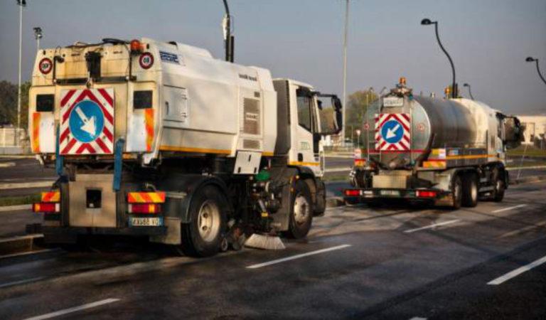 A Torino parte la disinfezione delle strade