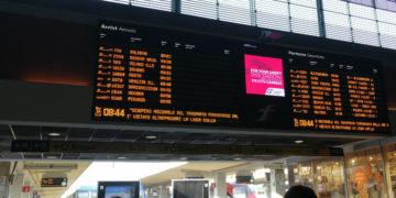 Treni cancellati per coronavirus Piemonte