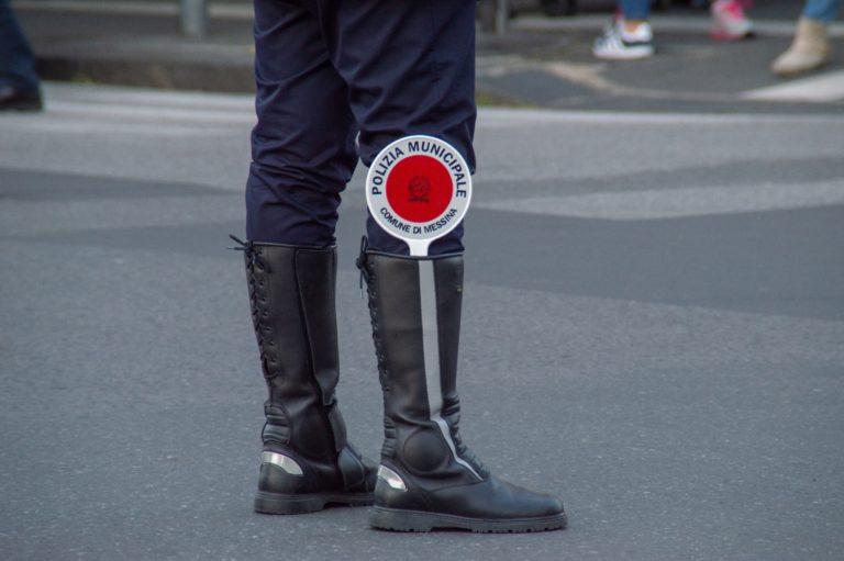Controlli polizia municipale Torino coronavirus
