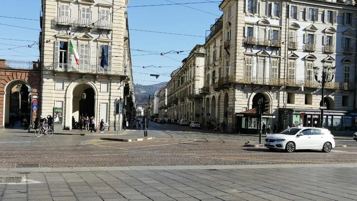 Effetto coronavirus a Torino