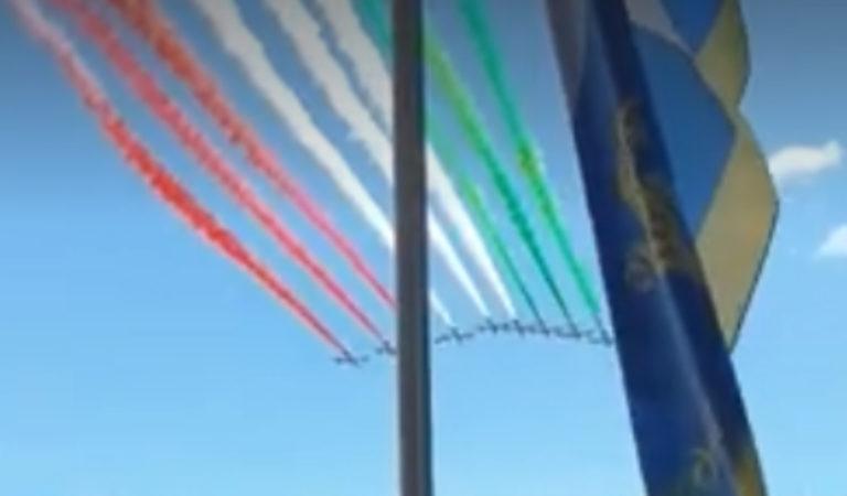 Frecce Tricolori: i torinesi hanno fatto uno «stress test» involontario