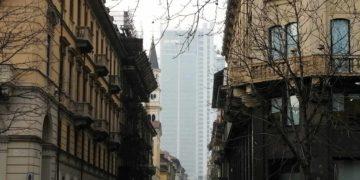Piano 35 nel grattacielo Intesa Sanpaolo