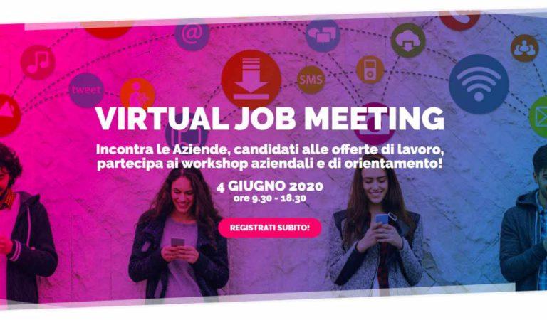 Virtual Job Meeting, la Fiera del lavoro si tiene online