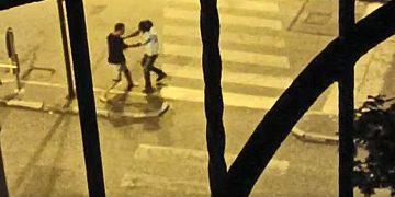 Violenza in Largo Giulio Cesare a Torino