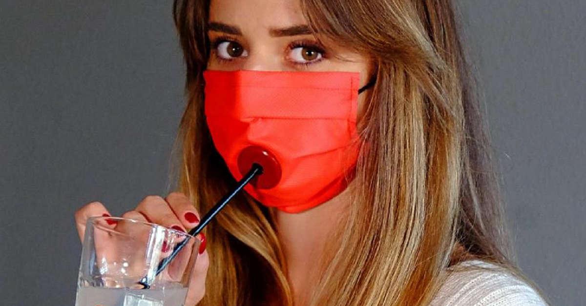 Bevi in sicurezza: ora c'è la mascherina per le bevande. È Drinksafe, un'idea italiana