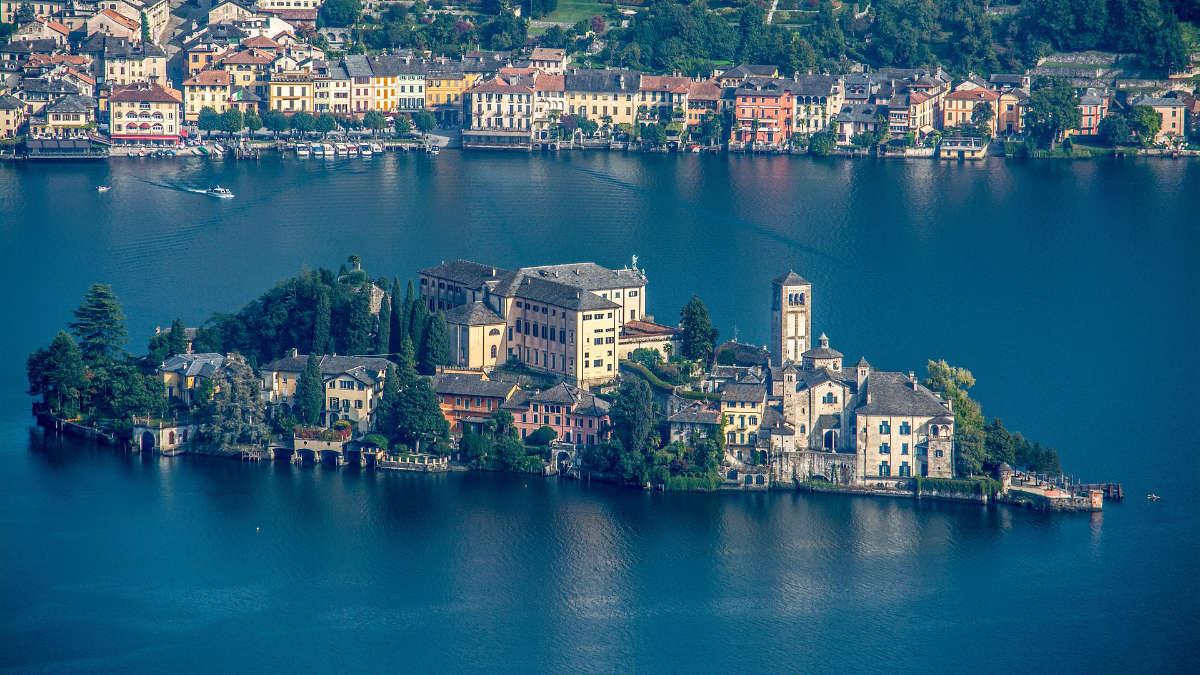 Lago d'Orta Piemonte