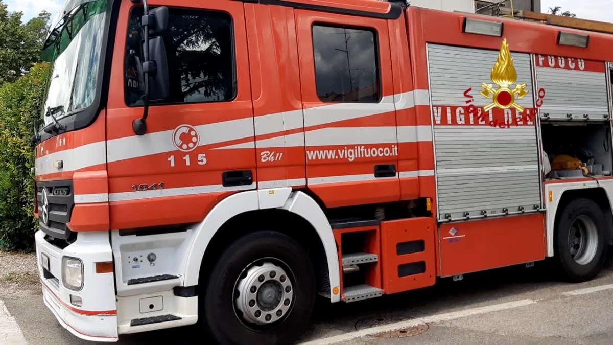 Incendio a Torino