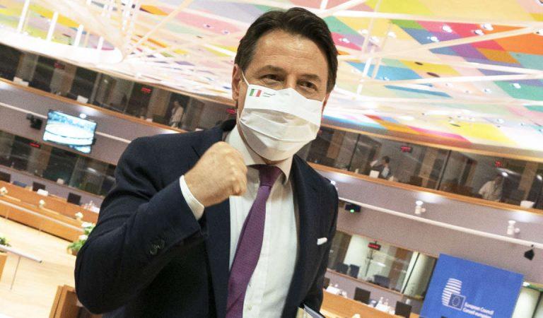 Recovery Fund, il premier Conte: «Ora possiamo far ripartire l'Italia»