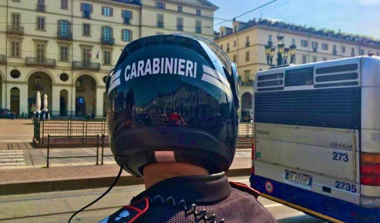Domenica selvaggia per due giovani torinesi: arrestati dai Carabinieri