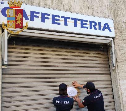 Sequestri e chiusure negozi Torino