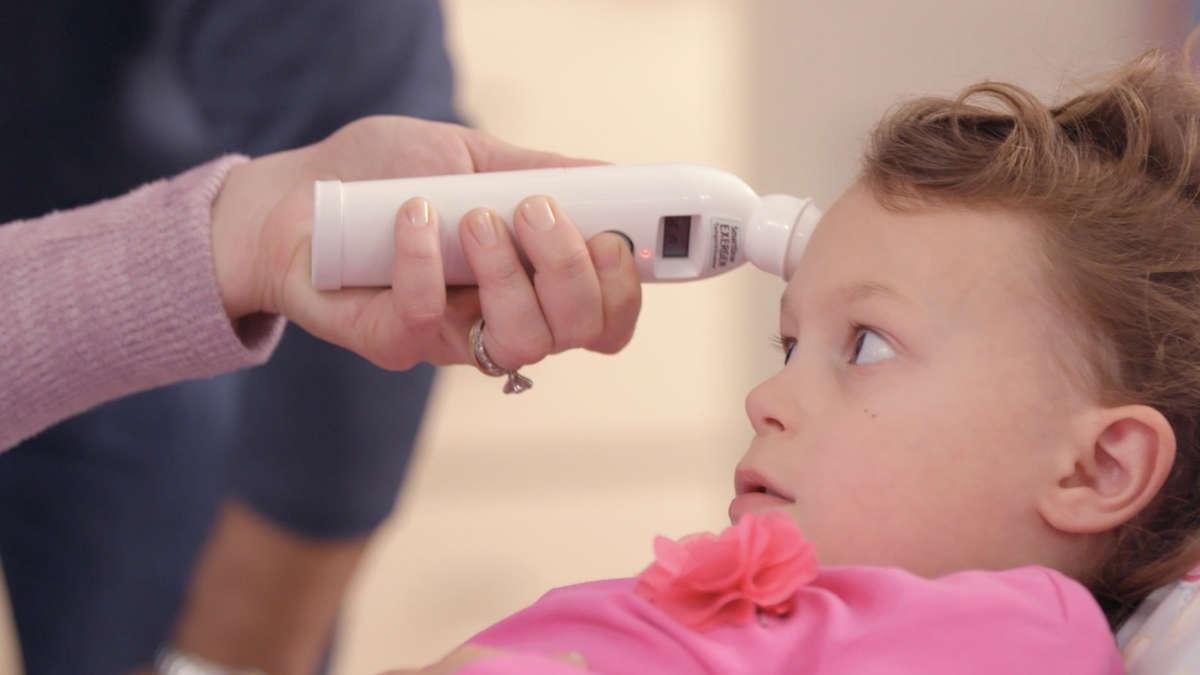 Misura della febbre a scuola