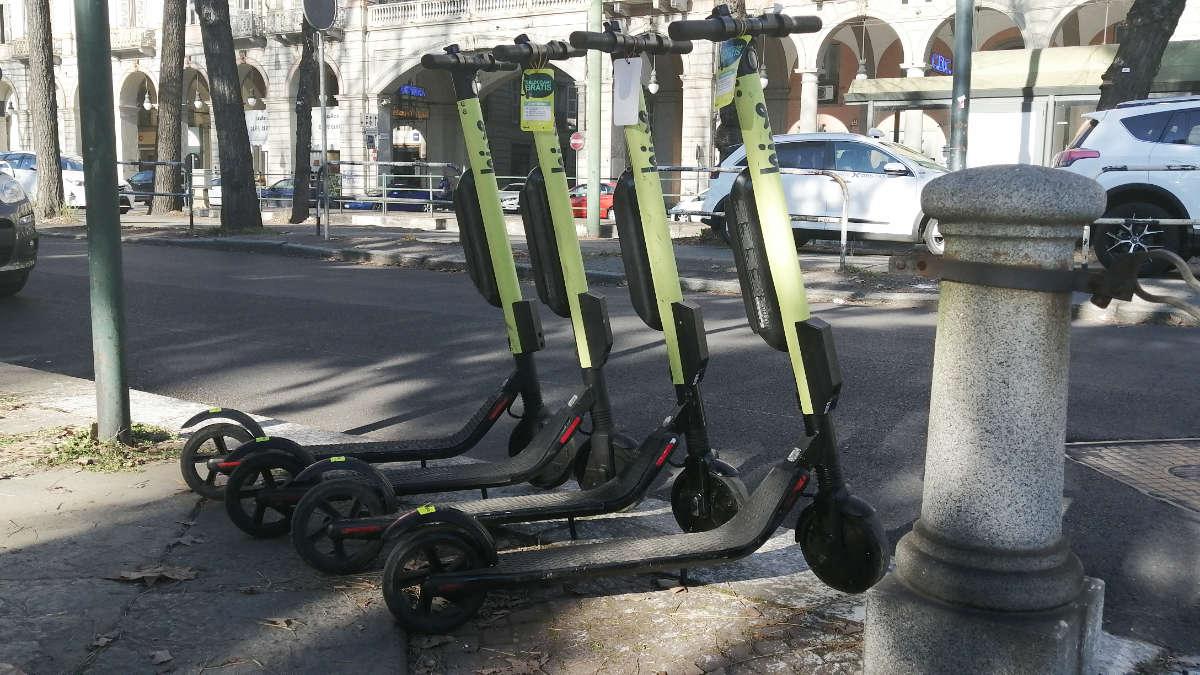 Torino, arrivano nuovi stalli per bici e monopattini