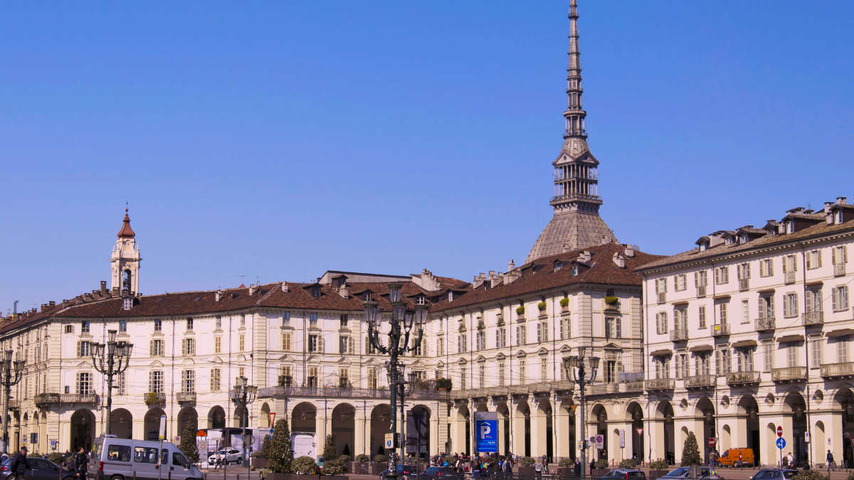 Piazza Vittorio a Torino