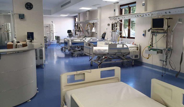 Ecco la nuova Area Covid di Terapia Semi Intensiva dell'ospedale Mauriziano di Torino