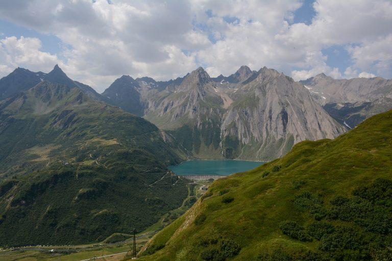 Lago Morasco in Piemonte