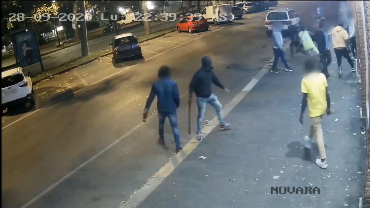 Aggressione in corso Vigevano a Torino