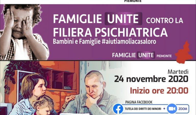 """Famiglie contro la filiera psichiatrica e la """"soluzione"""" psicofarmaci ai bambini"""
