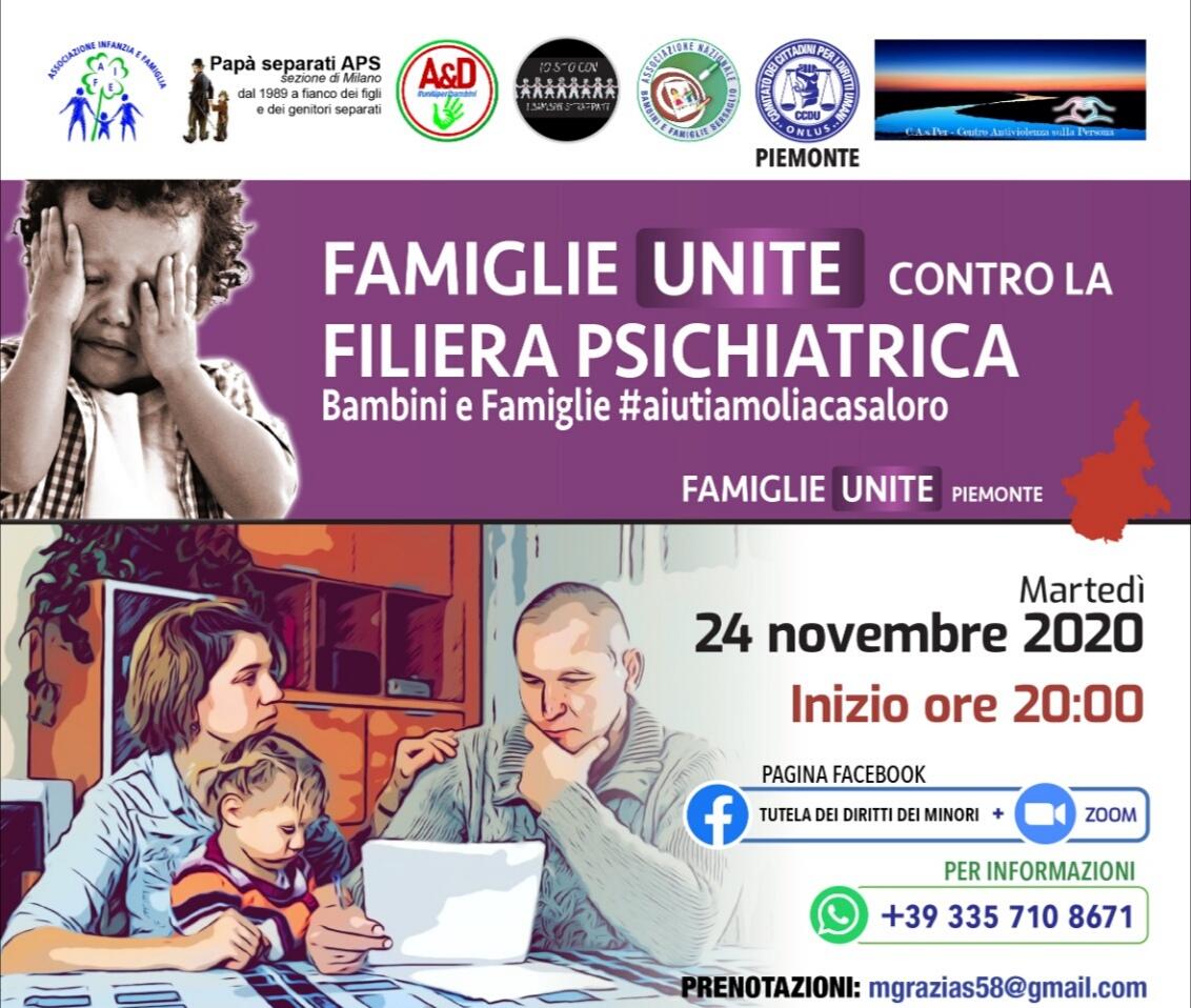 Famiglie contro la filiera psichiatrica