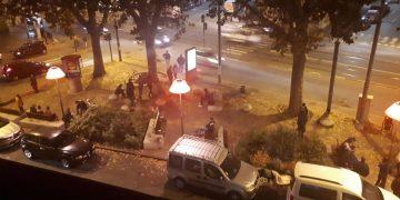 Corso Giulio Cesare a Torino: niente lockdown