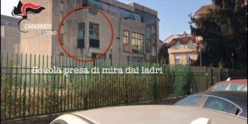 Tre arresti per furto a Torino
