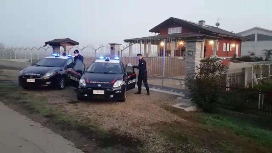 Dramma in una villetta a Carignano