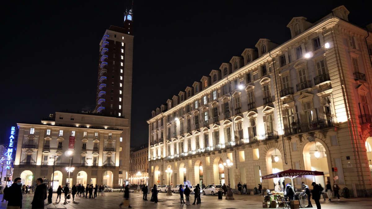 La nuova piazza Castello a Torino