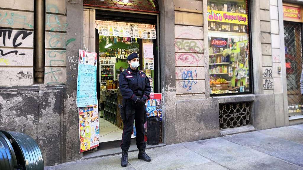 Violazioni norme anti covid a Torino
