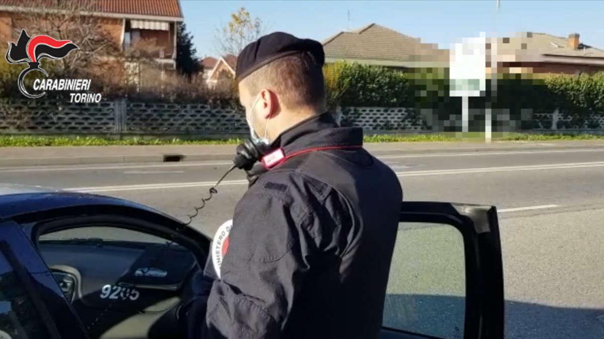 Carabinieri a Pianezza
