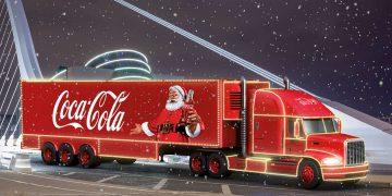 Il Coca-Cola Christmas Truck arriva a Torino