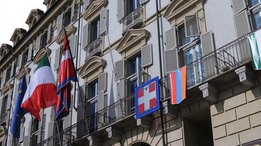 Regione Piemonte in piazza Castello