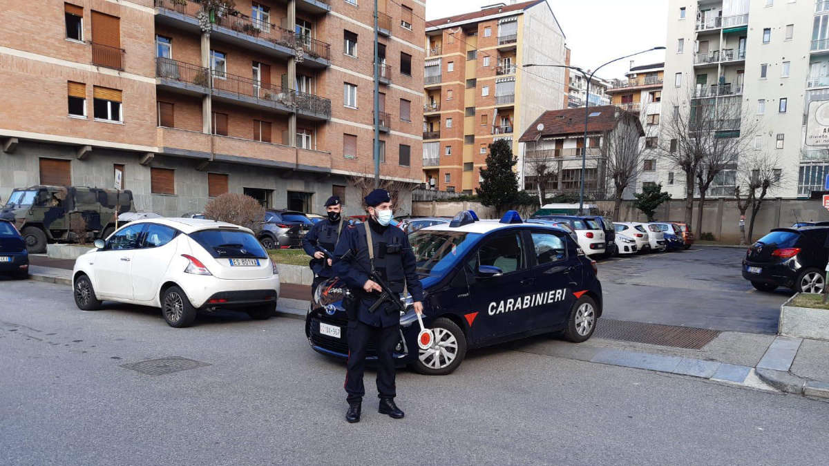 Torino rapina